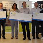 Eliane GERMONT Directeur ERDF Auvergne Centre Limousin et les startups primees.JPG