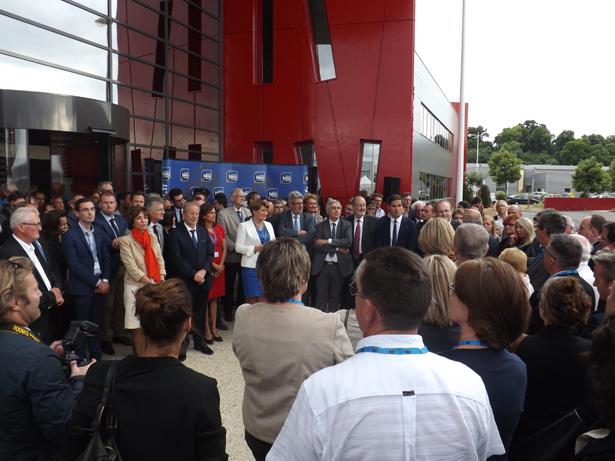 Inauguration France Bleu Touraine 1