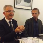 Le Président de la région Centre-Val de Loire, François Bonneau était au café contemporain du CCOD à Tours pour la rentrée économique de la région 2017.