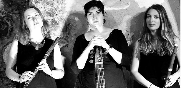 [CITERADIO] Interview – Trio Alséïdes – Pauline Vanagt – Nina Rouyer – Marie Chazelle – « Scotch Measure » – Dimanche 15 décembre 2019 – Arcades Institute