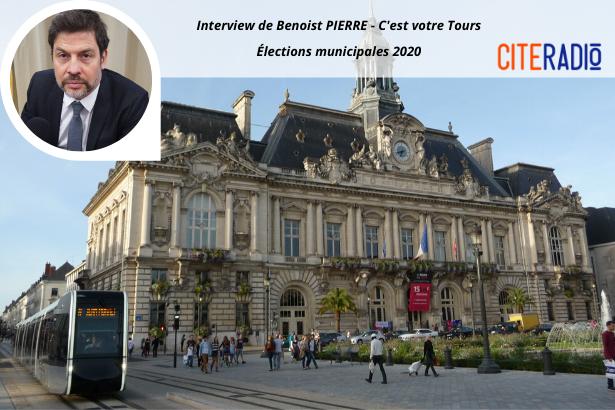 Benoist Pierre, C'est votre Tours - Élections Municipales de Tours 2020