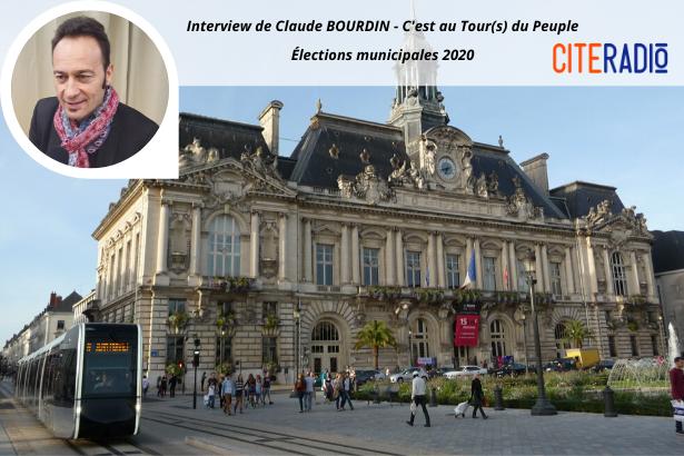Claude Bourdin, C'est au Tour(s) du peuple 2020 - Élections Municipales de Tours 2020