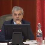 Christophe Bouchet lors de la conférence sur la distribution des masques pour la ville de Tours.