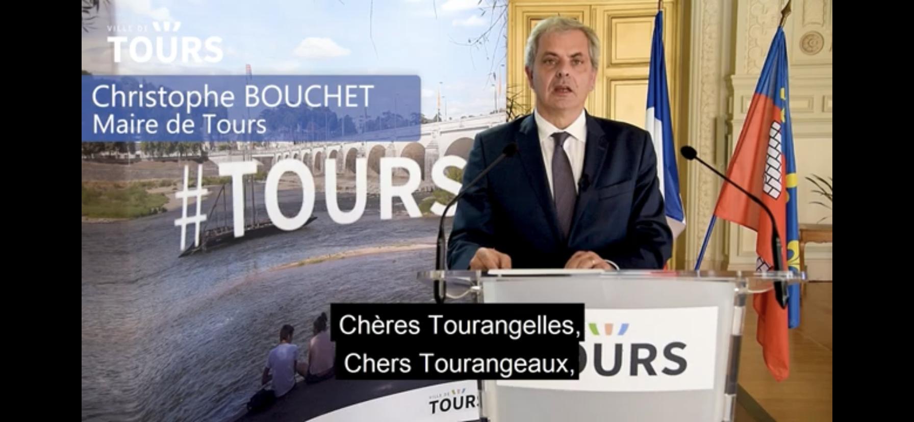 (CITERADIO) Le Maire de Tours s'exprime sur le déconfinement – Discours du 10 mai 2020