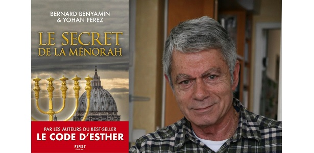 [CITERADIO] Interview – Bernard Benyamin – Envoyé spécial – France 2 – « Le secret de la Ménorah » – Éditions First – 14 juin 2020