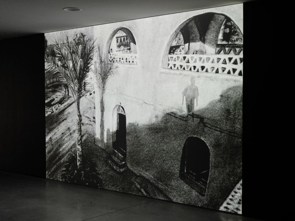 """Mathieu Dufois """"Dans l'ombre le monde commence"""" vue exposition CCC OD 2020"""
