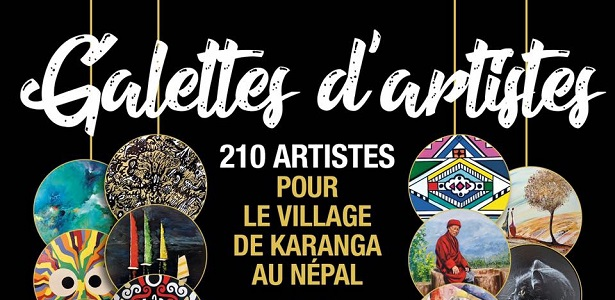 [CITERADIO] Interview – Michelle Guitton – Exposition « Galettes d'Artistes » – Hôtel de Ville de Tours – 3 septembre 2020