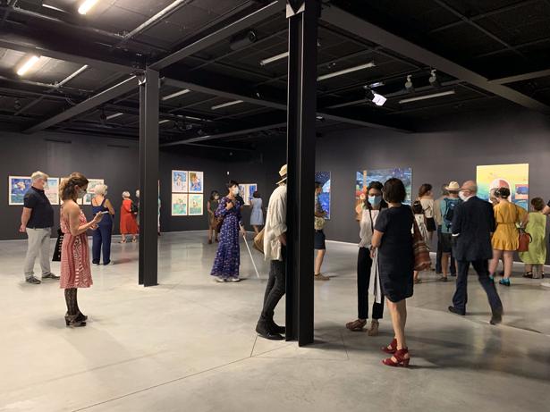 [CITERADIO] – Vernissage de l'exposition «Odyssées» de Marie-Anita Gaube au CCCOD de Tours – 18/09/20