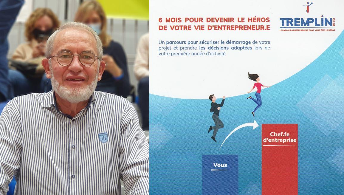 LES RENDEZ-VOUS DE LIGAYA – Rencontre avec Gérard Vincent, Vice-Président de la CCI Touraine, pour promouvoir la nouvelle action TREMPLIN BY CCI