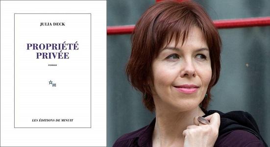 """[CITERADIO] Interview – Julia Deck – """"Propriété Privée"""" – Éditions de Minuit – 10 octobre 2020"""