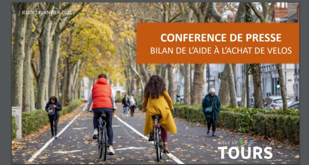 [CITERADIO] Ville de Tours – Conférence de Presse – Bilan de l'Aide à l'Achat de Vélos – 15/01/21