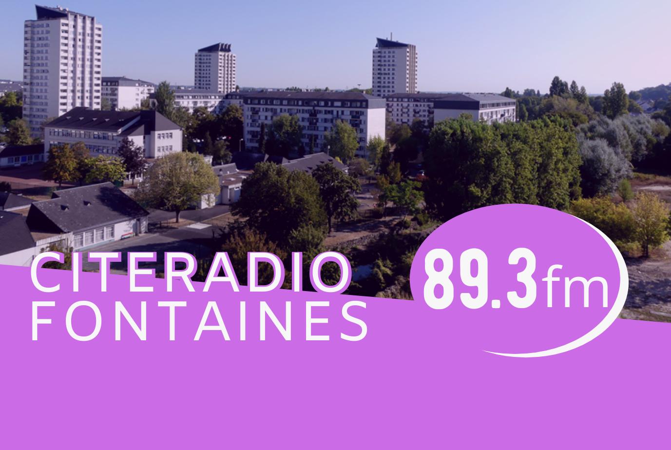 [CITERADIO] – CITERADIO Fontaines arrive sur le 89.3 FM !