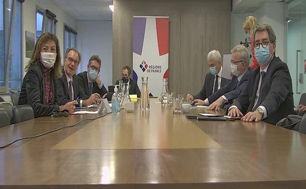 [CITERADIO] – Conférence de Presse des Vœux 2021- Renaud Muselier, président des régions de France, François Bonneau, président de la région Centre-Val de Loire – 13-01-2021