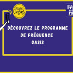 Affiche Programme de Radio Fréquence Oasis