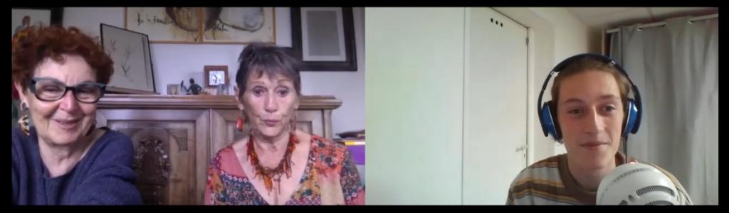 Interview de Françoise et Ghislaine en visioconférence