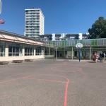 L'école Michelet dans le quartier des Sanitas