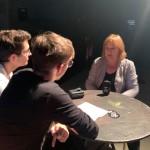 Marie-Laure Augry aux micros de Citéradio