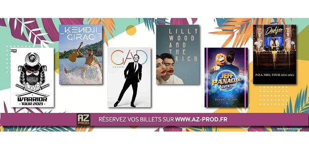 [CITERADIO] Interview – Arnaud Lahitte – AZ Prod – Spectacles – Concerts – 21 septembre 2021