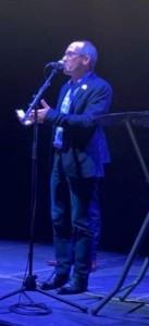 Matthieu Pays, président du Club de la Presse, parlant des deux initiatives du Club