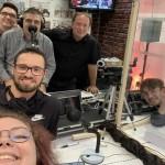 Toute l'équipe de CITERADIO présente aux imprimeries MAME pour les Assises 2021